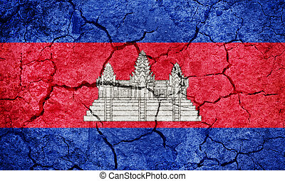 Kingdom of Cambodia flag