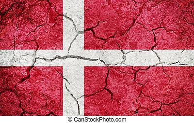Kingdom of Denmark flag