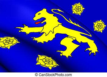 Kingdom of Dyfed Flag (410-920)