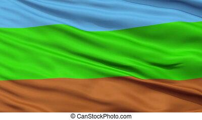 Kingdom of Redonda Micronation Close Up Waving Flag -...