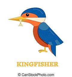 Kingfhisher Bird Icon