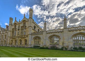 King's College at Cambridge University, England