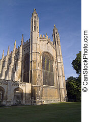 The world famous Chapel of King's College, Cambridge, completed in the time of Henry VIII