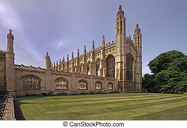 Kings College Chapel - Kings college chapel in Cambridge,...