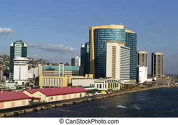 King's wharf in port of spain-trinidad