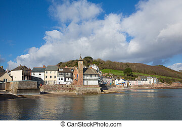 Kingsand village Cornwall England situated next to Cawsand on the Rame Peninsula overlooking Plymouth Sound