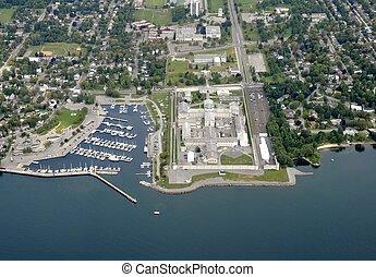 Kingston Penitentiary aerial