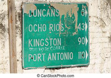 Kingston Road Sign