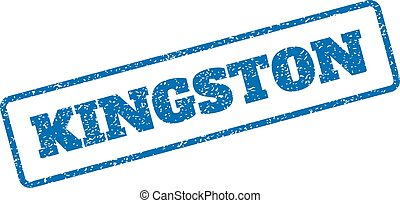 Kingston Rubber Stamp