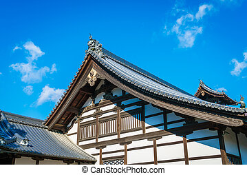 "kinkakuji, 寺廟, "", the, 黃金, pavilion"", 在, 京都, 日本"