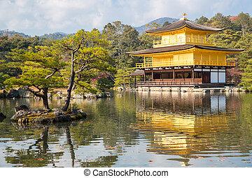 kinkakuji, 寺院