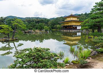 kinkakuji, temple