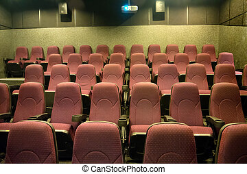 kino, leerer , sitze