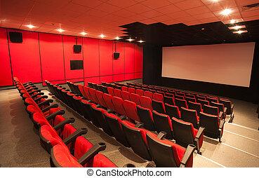 kino, leerer