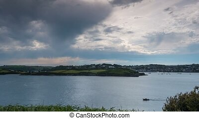 Kinsale Waterfront, View From Summer Cove, Ireland