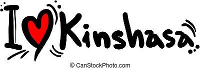 kinshasa, amore