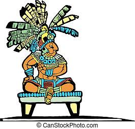 király, mayan, #2