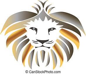 király, oroszlán