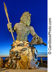király, tengerpart, neptun-bolygó, virginia, liget