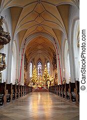 Kirchberg #22 - Interior of church in Kirchberg, Germany.