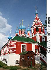 kirche, in, uglich, russland