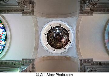 kirche, von, heilige, blasius, an, der, alte stadt, in, dubrovnik