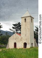 kirche, von, st. peter, kroatien