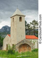 kirche, von, str. peter, kroatien