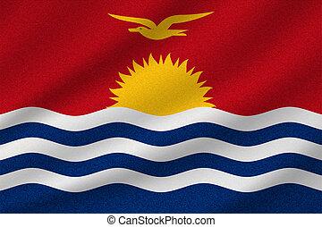 kiribati, drapeau national