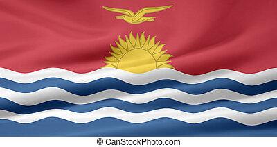kiribati, vlag