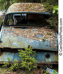 Kirkoe Mosse Bilkyrkogard Ford Anglia Rear