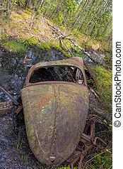 Kirkoe Mosse Bilkyrkogard VW Beetle