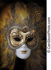 kirmes, mask., venedig, italien