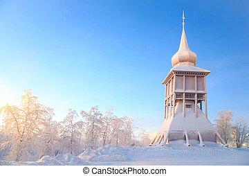 Kiruna cathedral church monument Sweden - Kiruna cathedral ...