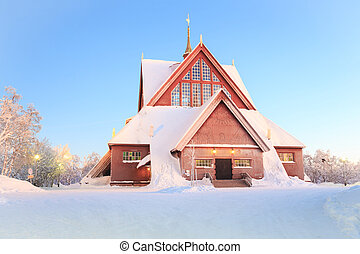 Kiruna cathedral church Sweden - Kiruna cathedral church...