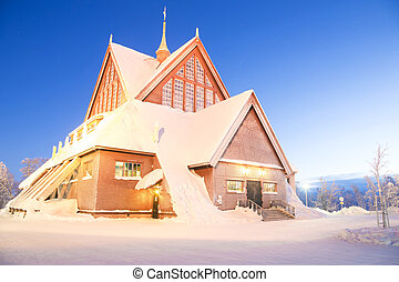 Kiruna cathedral Sweden - Kiruna cathedral Architecture at ...