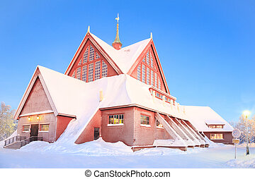 Kiruna Church lapland Sweden - Kiruna cathedral church ...