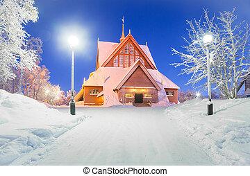 Kiruna church Sweden - Kiruna cathedral church Architecture ...