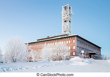 Kiruna City Hall Sweden - Architecture Kiruna City Hall at ...