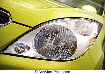kis autó, első lámpa