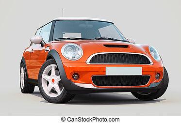 kis autó, modern