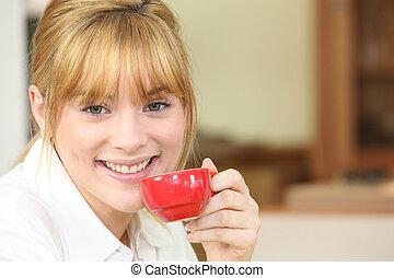 kisasszony, részeg kávécserje