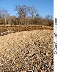 Kishwaukee River in Illinois