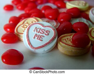 kiss me#2 - candys with a message