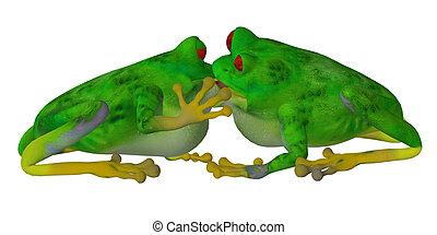 Kiss the frog