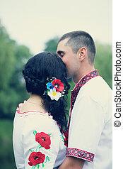 kisses the bride