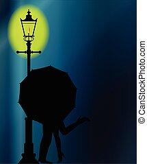Kissing In The Dark