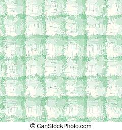 kiszőkített, festett, zöld, festeni, batik, csomó, textile., neo, kieszel, bemárt, shibori, ellenáll, kereszt, divatba jövő, criss, ellenőriz, elmosódott, háttér., pléd, fehér, mód, motívum, mintadarab, rendellenes, seamless, textured, változatos
