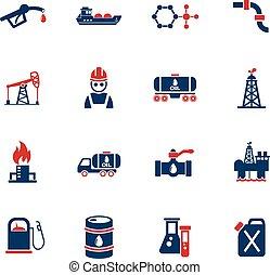 kitépés, olaj, állhatatos, ikon
