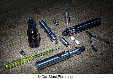kit for electronic cigarette